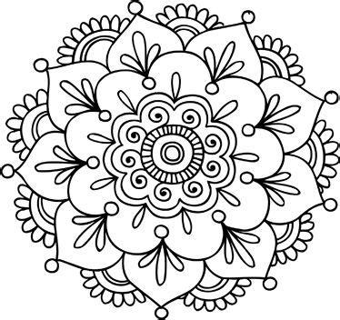 imagenes en blanco para colorear de flores 27 m 225 ndalas para colorear de flores de loto mandalas
