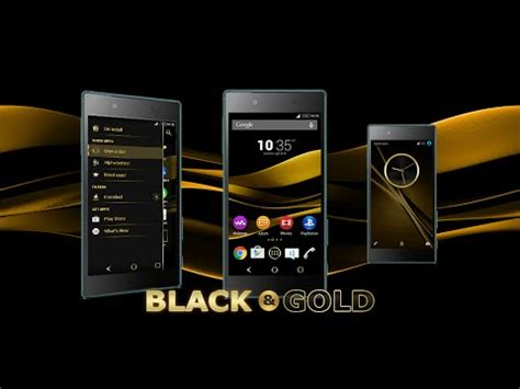 themes black gold black gold theme for xperia android apps on google play