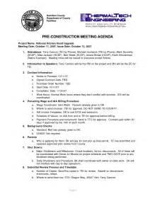 pre construction meeting agenda template weekly construction meeting agenda 3 best agenda templates