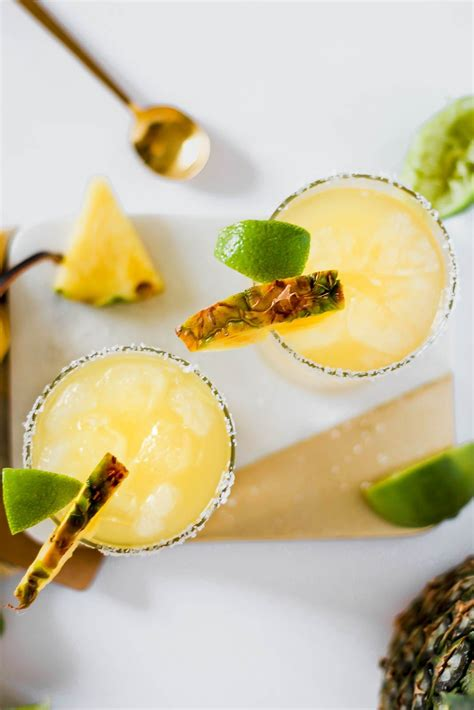 pineapple margarita refreshing pineapple margarita