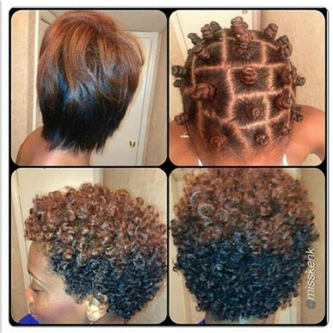 bantu knot out on short natural hair bantu knots knots and hair on pinterest