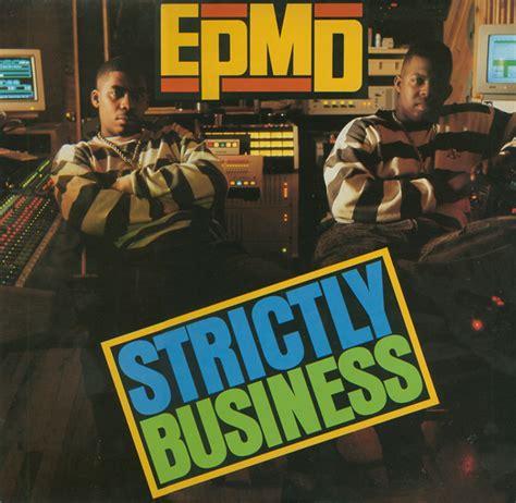epmd strictly business vinyl lp album at discogs - Epmd Strictly Business Vinyl