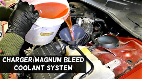 how to bleed radiator on a 1996 chrysler sebring how to bleed the cooling system on dodge charger dodge magnum chrysler 300 youtube
