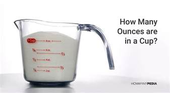 how many ounces are in a cup howmanypedia
