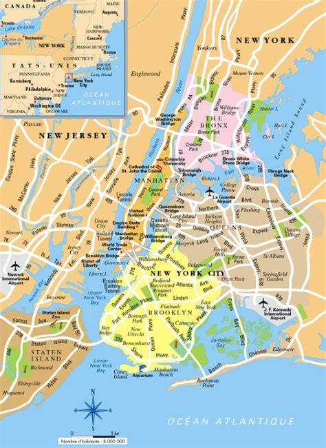 0004490363 carte touristique jersey en tourisme guide touristique new york city