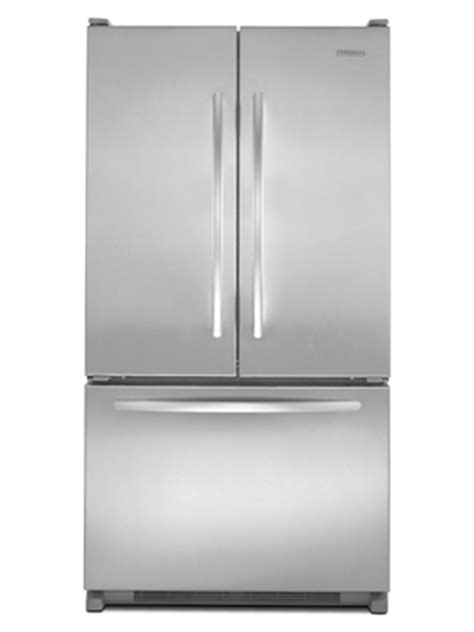 kitchen aid appliances reviews kitchenaid model kbfs25evms french door refrigerator review