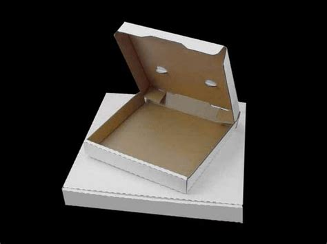 How To Make A Box With Chart Paper - how to make a pizza box