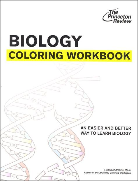 biology coloring book princeton review 74 best images about hs biology on student
