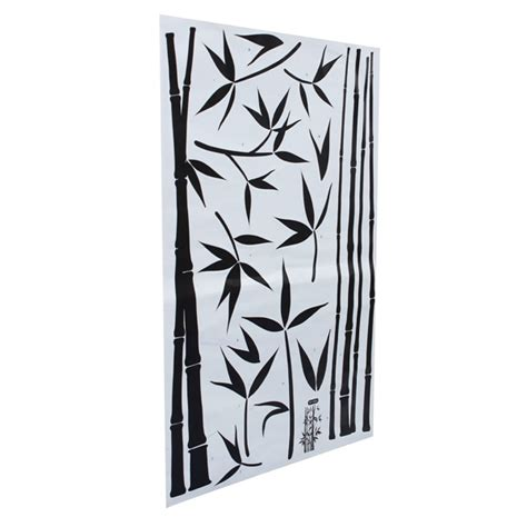 removable bamboo wall stickers home decor art decoration bamboo trees mural decal nursery wall decal murals