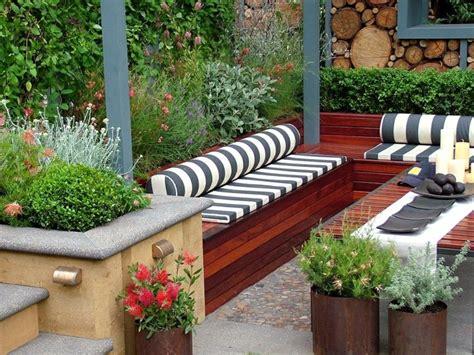 Patio Areas In Gardens Dise 241 O De Jardines Peque 241 Os Y Modernos 50 Ideas