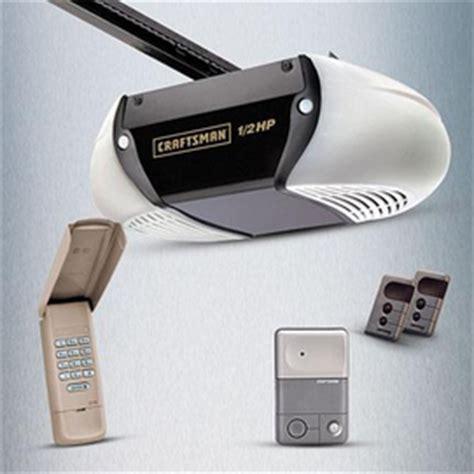 Craftsman Belt Drive Garage Door Opener by Craftsman 174 Md 1 2 Hp Belt Drive Garage Door Opener Sears