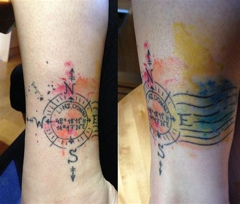 geometric tattoo leicester 35 best compass tattoos images on pinterest compass
