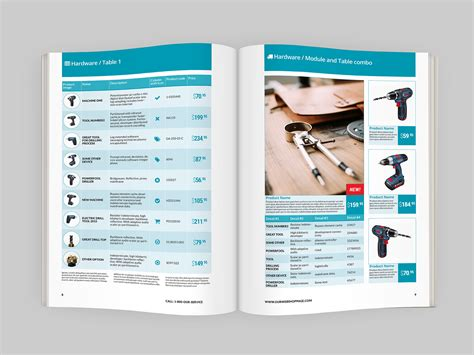 product layout catalog product catalog indesign template indiestock