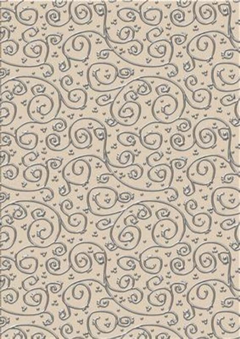Backing Paper For Card - shabby summertime metallic swirls silver backing paper