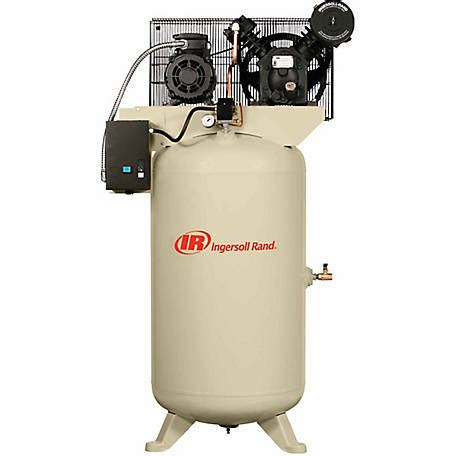 ingersoll rand 7 5 hp 80 gallon two stage air compressor at tractor supply co