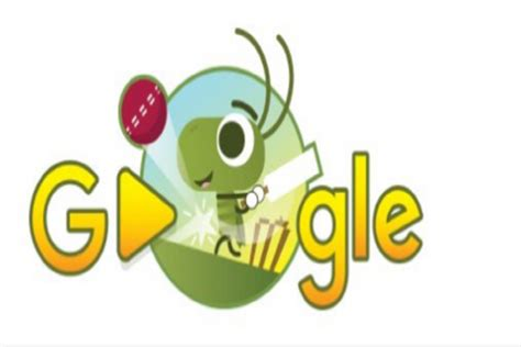 today s doodle india if you cricket don t try today s doodle