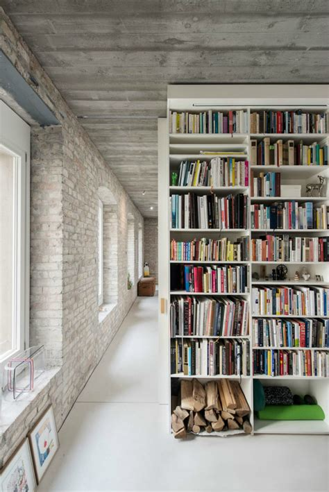 wall decor for library 19th century berlin house becomes contemporary with