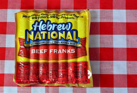 hebrew national dogs foil packet recipe