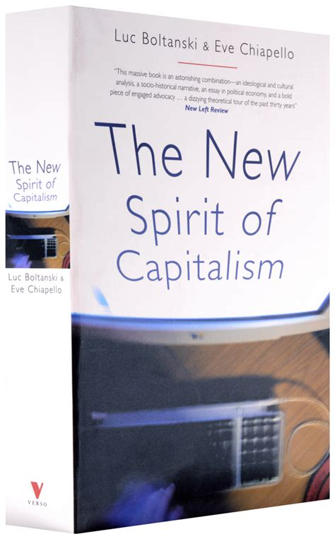 the new spirit of capitalism books verso