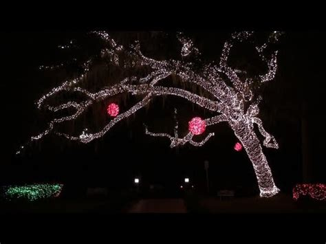 festival of lights at stephen foster state park youtube