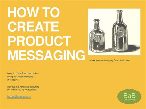 create engaging messaging positioning    template