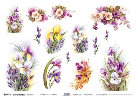 fiori per decoupage carta decoupage fiori szukaj w flowers kwiaty