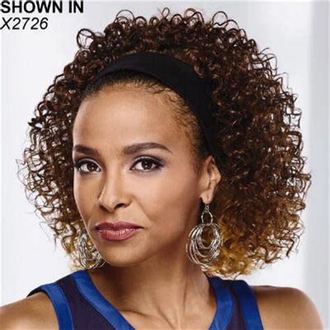 k curl headband hair piece by especially yours short wigs wig hairstyles for black women especially yours