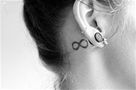 infinity tattoo ear infinity on pinterest infinity signs infinity tattoos