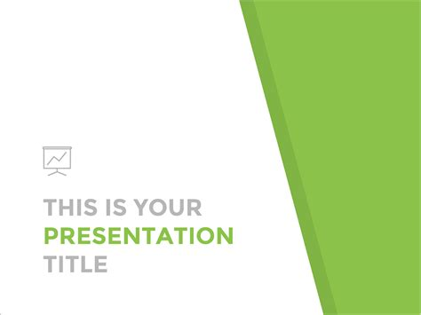 free presentation template clean and professional