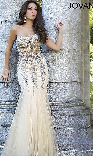 Elegancy Gold Dress jovani designer prom dresses gowns promgirl