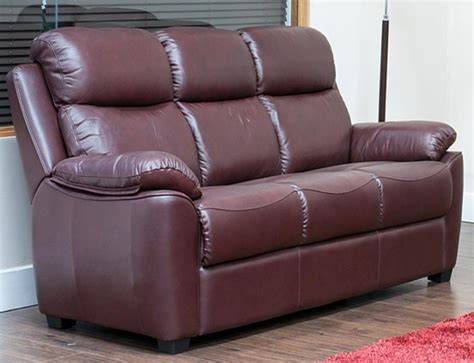 kansas leather sofa kansas reclining 3 seater leather sofa suite available in