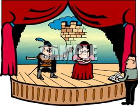 play theater stage clip art stage play clipart