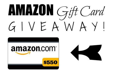 Amazon Gift Card Sweepstakes - strands of my life