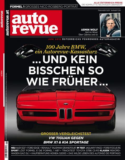 Auto Revue by Autorevue Magazin Juni 2016