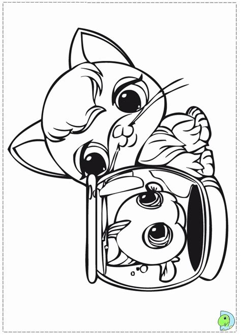 coloring pages for lps coloring pages littlest pet shop coloring home