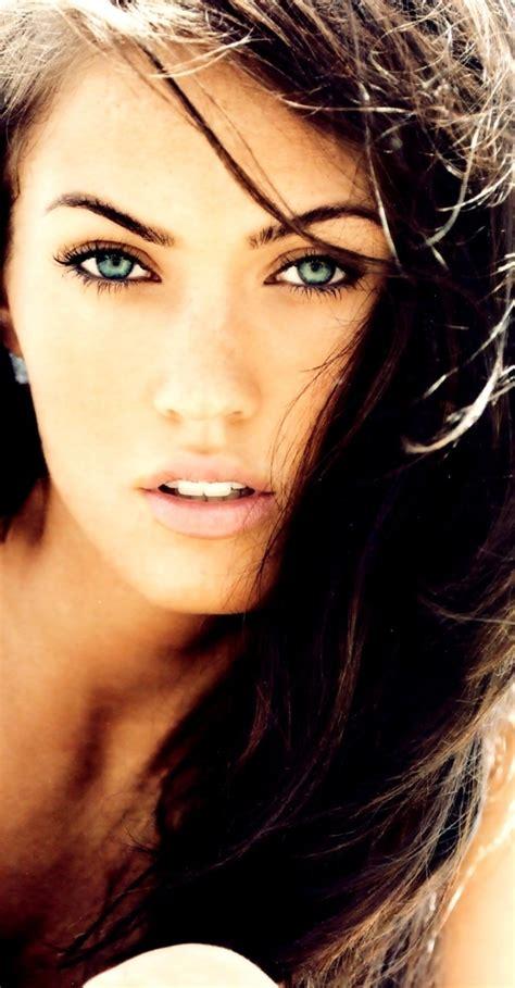 Dark Hair Light Eyes The Eyes Have It Pinterest Black Hair Black Hair Green Eyes And