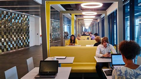 Office Interior Design Firm by Aon Opens New Global Headquarters In London Press