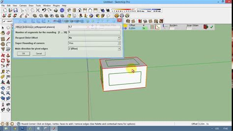 sketchup layout rounded rectangle sketchup plugin round corner youtube