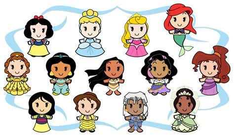 Disney Cuties Disney Cuties Princess Printable