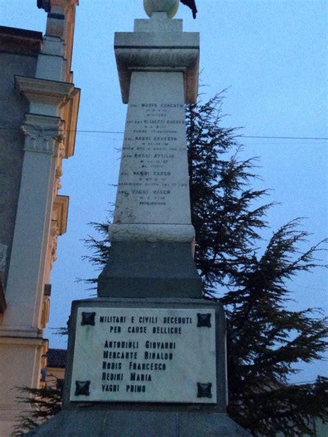 cereta di volta mantovana monumento ai caduti di cereta pietre della memoria