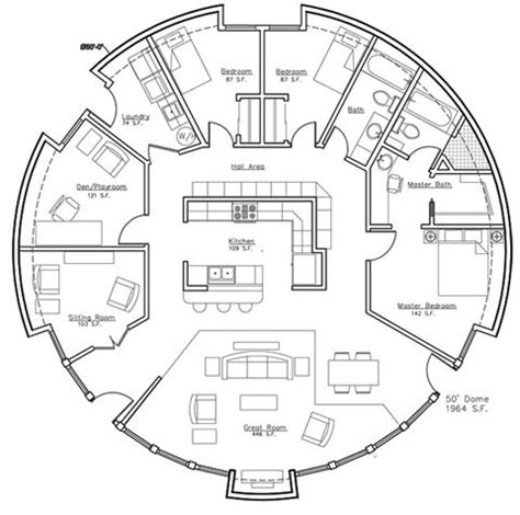 monolithic dome house plans plan quot a president s choice