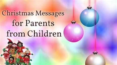christmas messages  parents  children short merry christmas wishes