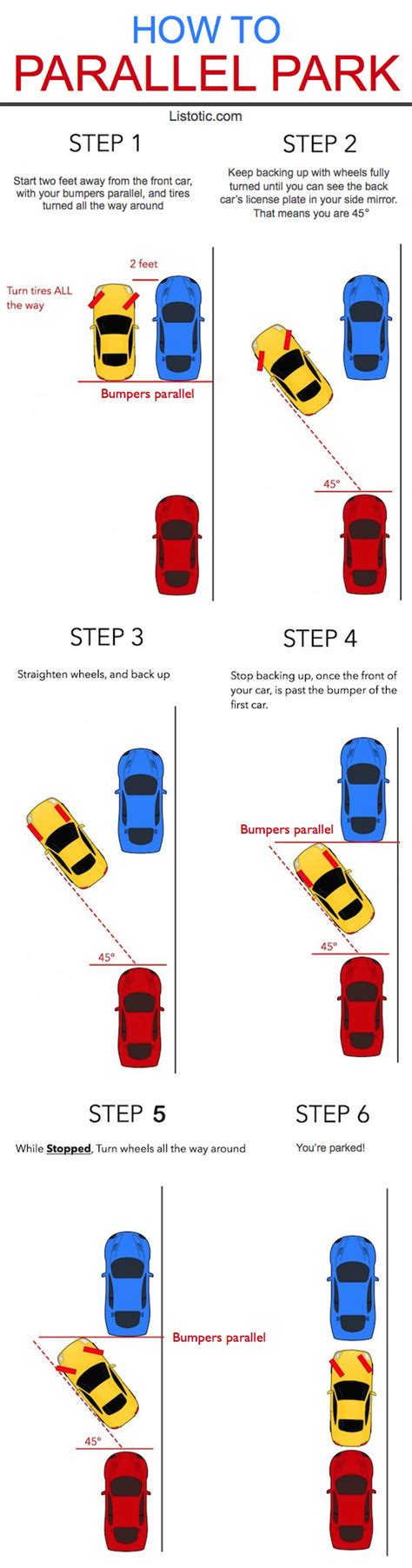parallel test 10 helpful ways to master driving