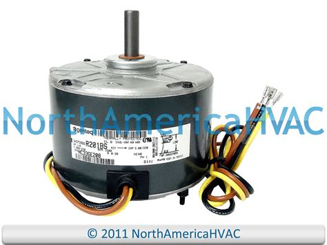 air conditioner condenser fan motor oem ge genteq air conditioner condenser fan motor 1 6 hp
