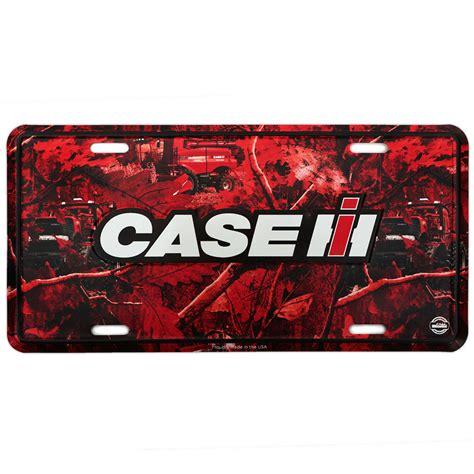 Red Kitchen Accessories Ideas Case Ih Camo License Plate Shopcaseih Com