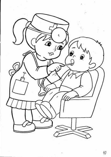 baby nurse coloring pages 12 best tranh nghe nghiep images on pinterest children