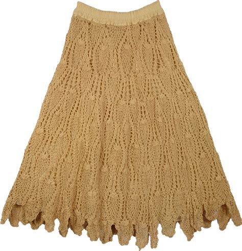 pattern crochet skirt yellow earth skirt all crochet pattern clothing