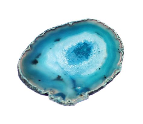Soapstone Jewelry Turquoise Brazilian Agate Slice From Geo Evolution