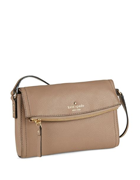 Kate Spade Mini kate spade mini carson crossbody bag in brown lyst