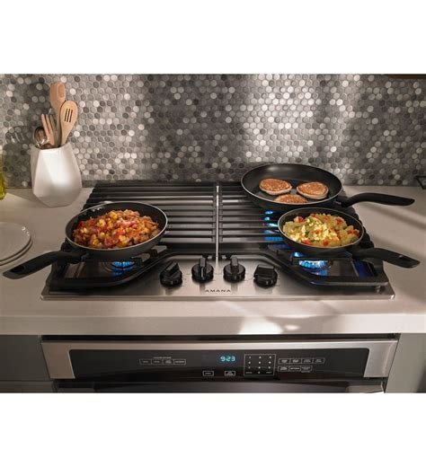best gas cooktop 30 agc6540kfb 30 inch gas cooktop with 4 burners